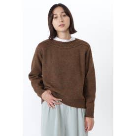 ◆≪Japan Couture≫英国羊毛プルオーバー ブラウン
