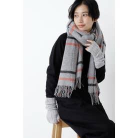 ◆GLEN PRINCE 大判ストール Grey CH3