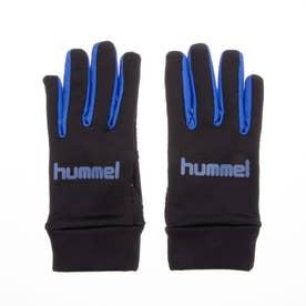 ジュニア サッカー/フットサル 防寒手袋 JR.フィールドグローブ HJA3050 (ブラック)