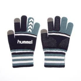 メンズ サッカー/フットサル 防寒手袋 マジックグローブ HFA3051 (ネイビー)