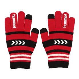 メンズ サッカー/フットサル 防寒手袋 マジックグローブ HFA3055 (レッド)