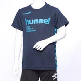 HUMMEL ジュニア サッカー/フットサル 半袖シャツ プラクティスTシャツ HJP4129