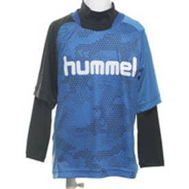 HUMMEL ジュニア サッカー/フットサル レイヤードシャツ レイヤードプラクティスシャツセット HJP7116
