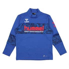 ジュニア サッカー/フットサル 長袖シャツ プリアモーレL/Sあったかプラクティスシャツ HJP7125 (ブルー)