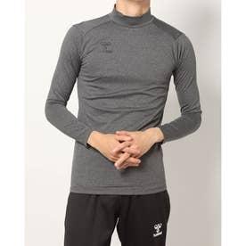 メンズ サッカー/フットサル 長袖インナーシャツ あったかインナーシャツ HAP5152 (グレー)