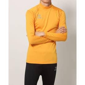 メンズ サッカー/フットサル 長袖インナーシャツ あったかインナーシャツ HAP5152 (オレンジ)