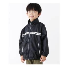 【100-160cm】ポケッタブルブルゾン (ブラック(019))