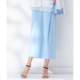 【WEB&一部店舗限定】Comfy スカート (スカイブルー系)
