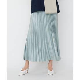 【マガジン掲載】Gloss Satin スカート(番号CE24) (アイスブルー系)
