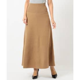 Milled Wool スカート (キャメル系)