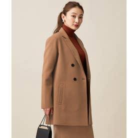 【マガジン掲載】WoolRever ジャケットコート(番号CJ22) (キャメル系)