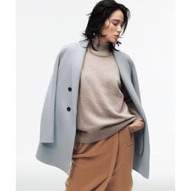 【マガジン掲載】WoolRever ジャケットコート(番号CJ22) (スカイブルー系)