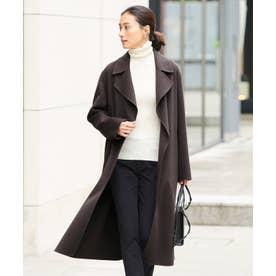 【マガジン掲載】WoolRever ベルテッドコート(番号CJ25) (グレー系)