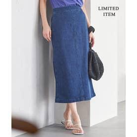 【一部店舗限定】Denim スカート (ブルー系)