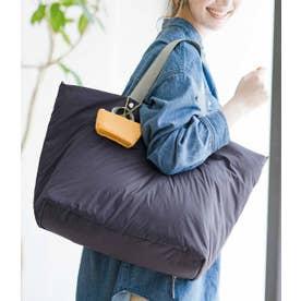 旅のプロのアイデアを詰め込んだ ふんわり軽量大きめトートバッグ (グレー)