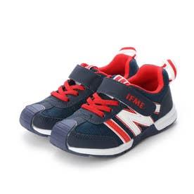 キッズ スニーカー  子供靴 シューズ 運動靴 30-0173 (ネイビー)