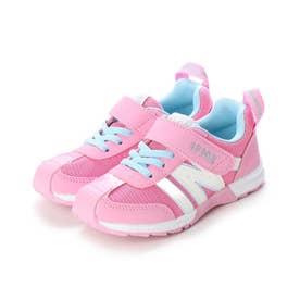 キッズ スニーカー 子供靴 シューズ 運動靴 女の子 通園 30-0171 (ピンク)