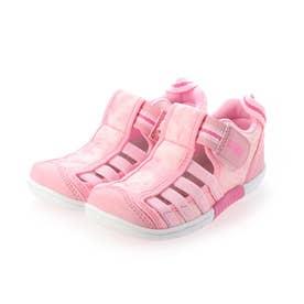 キッズ ウォーターシューズ【水抜き底/水陸両用】 22-0277 (ピンク)