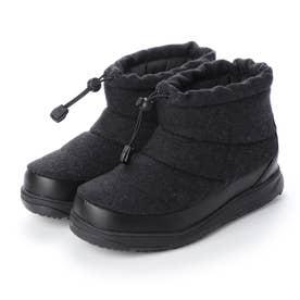 カジュアル スノー ショートブーツ IG C1519BK ブーツ ウィンターシューズ : ブラック