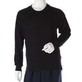 ジュニア バレーボール 長袖プラクティスシャツ 8502022146 (ブラック)