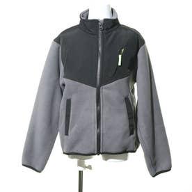 ジュニア フリースジャケット IG-9C47010FJ (グレー)