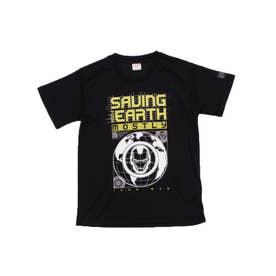 ジュニア 半袖機能Tシャツ MV-9C42171TS (ブラック)