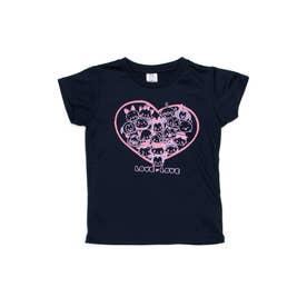 ジュニア 半袖機能Tシャツ DN-9C42301TSTMG (ネイビー)