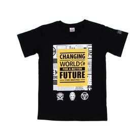ジュニア 半袖Tシャツ MV-9C42141TS (ブラック)