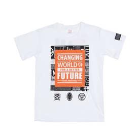 ジュニア 半袖Tシャツ MV-9C42141TS (ホワイト)
