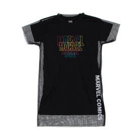 ジュニア 半袖Tシャツ MV-9C42241TSG (ブラック)