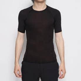 メンズ 長袖インナーシャツ Crew Neck S/S T-Shirt (Rib) クルーネック半袖(衿リブ) IG-9C19879UT