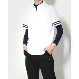 メンズ ゴルフ セットシャツ IG-1L1101B-C2P (ホワイト)