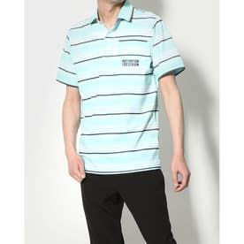 メンズ ゴルフ セットシャツ IG-1H1071P (ブルー)