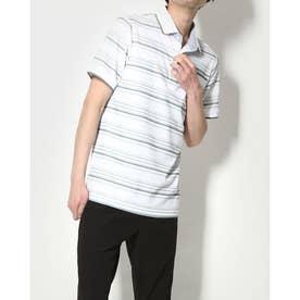 メンズ ゴルフ セットシャツ IG-1H1071P (ホワイト)