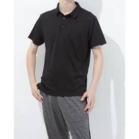 メンズ 半袖機能ポロシャツ IG-9A13051PS (ブラック)