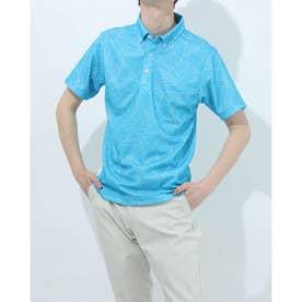 メンズ ゴルフ 半袖シャツ IG-1H1011B-C (ブルー)