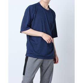 メンズ 半袖機能Tシャツ MBIG半袖TシャツIC(杢) IG-9A13071TS (ネイビー)