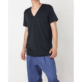 メンズ 半袖インナーシャツ IG-9C13008UT (ブラック)
