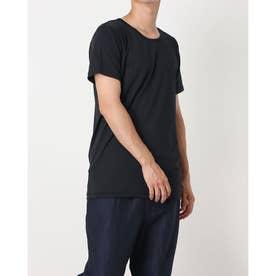 メンズ 半袖インナーシャツ IG-9C13048UT (ブラック)
