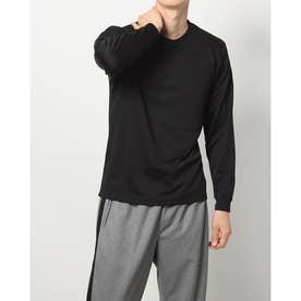 メンズ 長袖機能Tシャツ iHEATロングTシャツ 16081 (ブラック)