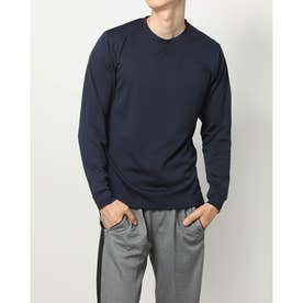 メンズ 長袖機能Tシャツ iHEATロングTシャツ 16081 (ネイビー)