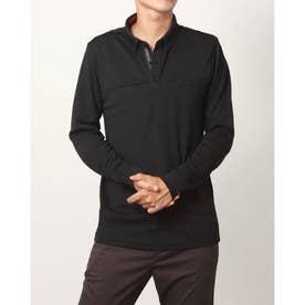 メンズ ゴルフ 長袖シャツ アイヒートボタンダウン長袖シャツ IG-1L1541B-H (ブラック)