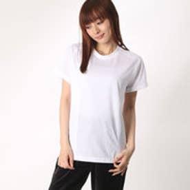 レディース バレーボール 半袖プラクティスシャツ 8502022326 (ホワイト)