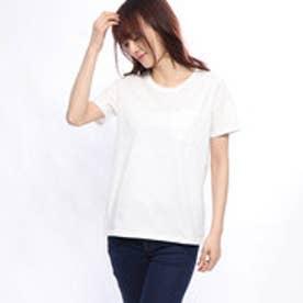 レディース 半袖Tシャツ USAコットンベーシックTシャツ(半袖) LUSAコットンポケTSS