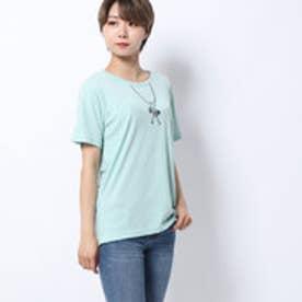 レディース 半袖Tシャツ グラフィックTシャツ(半袖) LフェイクアソートCNTSS