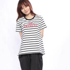 レディース 半袖Tシャツ グラフィックTシャツ(半袖) LBDAラインCNTSS