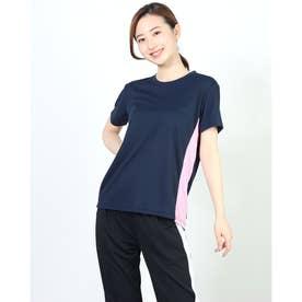 レディース 半袖機能Tシャツ IG-9A23001TS (ネイビー)