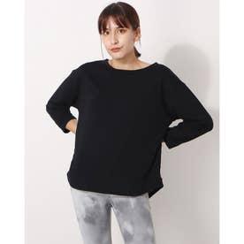 レディース 長袖Tシャツ IG-9A26061CL (ブラック)