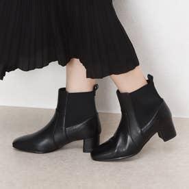 【サスティナブルシリーズ】ゴアデザインショートブーツ (ブラック)