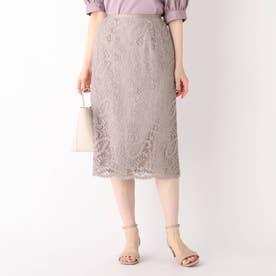 ペイズリーレースタイトスカート【WEB限定サイズ】 (タバコブラウン)
